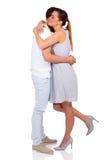 Kobiety przytulenia chłopak Fotografia Royalty Free