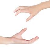 Kobiety ręka Fotografia Royalty Free