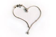Kobiety ` s biżuteria symbol serce Zdjęcia Stock