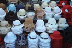 Kobiety ` s kapelusze Fotografia Royalty Free