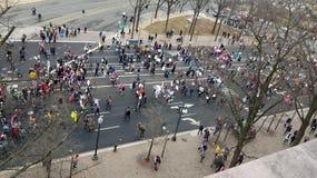 Kobiety ` s Marzec na Waszyngton Zdjęcia Stock