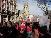 Kobiety ` s Marzec tłum, NYC, NY, usa Obrazy Stock