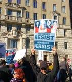 Kobiety ` s Marzec, Zionesses Opiera się, NYC, NY, usa Obraz Stock