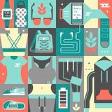 Kobiety Sportwear ilustracja wektor