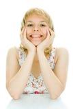- kobiety stołowych piękno Fotografia Royalty Free