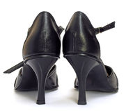kobiety sukcesu butów Obrazy Royalty Free