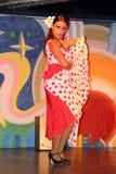 Kobiety tanczy flamenco Zdjęcia Stock
