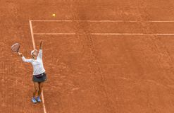 Kobiety tenisowe przy Roland Garros Obraz Stock