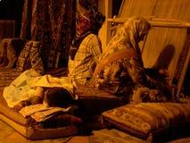 kobiety tkactwo Zdjęcia Royalty Free