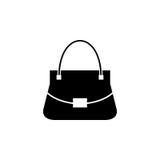 Kobiety torby wektoru ikona Zdjęcia Stock
