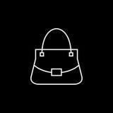 Kobiety torby wektoru ikona Fotografia Royalty Free