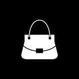 Kobiety torby wektoru ikona Zdjęcia Royalty Free