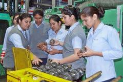 Kobiety upełnomocnienia pracy zespołowej sukces Obrazy Stock