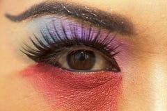 Oko, kolor Fotografia Stock