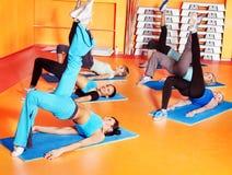 Kobiety w aerobik klasie. Zdjęcie Stock