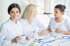 Kobiety w biznesie Obraz Royalty Free