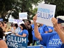 Kobiety W polityka obraz stock