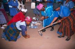 Kobiety w wiejskim Południowa Afryka. Zdjęcia Royalty Free
