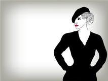 Kobiety wizerunku mody pojęcia tło Zdjęcie Royalty Free