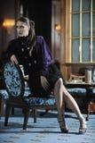 Kobiety życia nocnego moda Zdjęcia Royalty Free