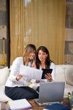 kobiety youngs przedsiębiorstw Obrazy Stock