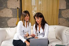 kobiety youngs przedsiębiorstw Obraz Stock