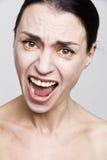 Kobiety złość obraz stock