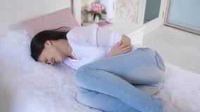 Kobiety z menstrual syndromem zbiory