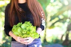 Kobiety z warzywami, Jarski jedzenie około tło bow puste pojęcia wyświetlania numerów jego skali diety środki wiążące taśma tekst Zdjęcie Royalty Free