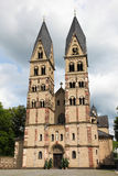Koblenz. The Basilica of St. Castor is the oldest church in Koblenz in the German state of Rhineland Palatinate, close to the Deutsches Eck Royalty Free Stock Image