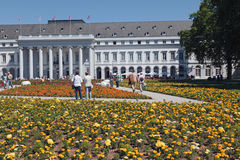 Koblenz BUGA Flower Festival Stock Images