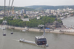 Cable Cars , Germany Royalty Free Stock Image