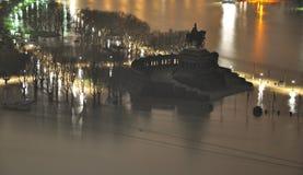 Koblenz City Germany flood historic German Corner3 Stock Photos