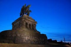 Koblenz-Denkmal Lizenzfreies Stockbild