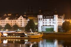 Koblenz germany at night Stock Photography