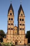 Koblenz - iglesia del echador del St. imágenes de archivo libres de regalías