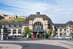 Koblenz Main Station Royalty Free Stock Images
