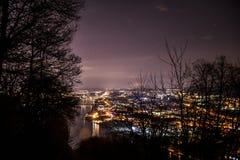 Koblenz-Stadt Deutschland mit historische Stadtgeschichte lizenzfreie stockfotos