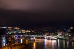 Koblenz-Stadt Deutschland mit historischer deutscher Ecke 2 stockfoto
