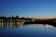 Koblenz-Stadt Deutschland mit historischer deutscher Ecke 7 stockbild