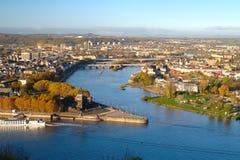 Koblenz on a sunny morning Royalty Free Stock Image
