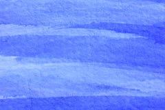 Koboltblått Hue Watercolor Background 12 Arkivfoton