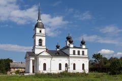 Kobona. Leningrad region. Russia. Church of St. Nicholas. Royalty Free Stock Image