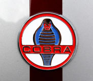 Kobra Hood Badge Royaltyfri Foto