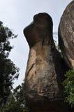 Kobra Hood Rock beim Sigiriya Sri Lanka Stockfotografie