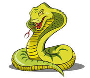 Kobra-Schlange Lizenzfreies Stockbild