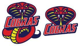 Kobra wąż ilustracja wektor