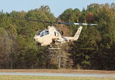 Kobraattackhelikopter Royaltyfri Fotografi