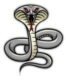 Kobraschlangenmaskottchen Lizenzfreie Stockbilder
