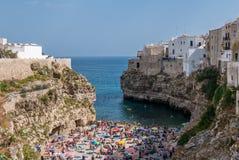 kobyli Italy polignano Puglia obrazy royalty free